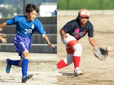 平成30年度阿蘇郡市中体連出場校紹介 一の宮中サッカー・女子ソフトボール部