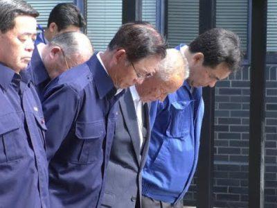 九州北部豪雨災害から6年阿蘇市役所で追悼行事