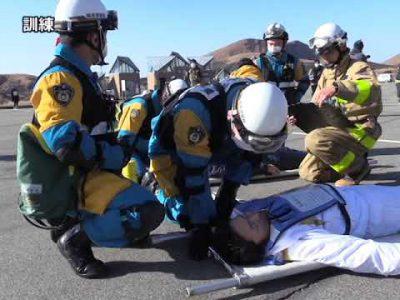 平成30年 阿蘇火山防災訓練